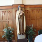 St. Therese in the dining room