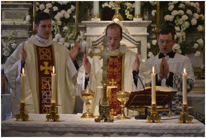 Fr. Charles Nielsen (left) and Fr. Patrick Wilkinson (right)
